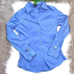 Express Button Front Shirt